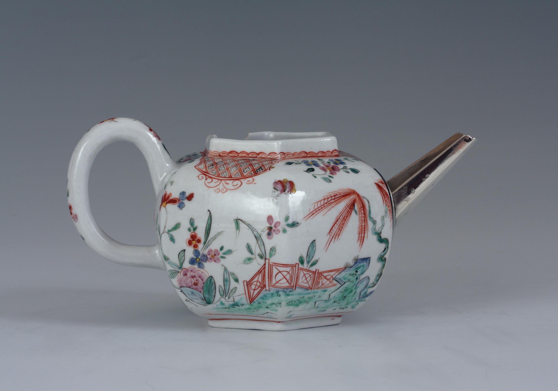 An A-mark teapot
