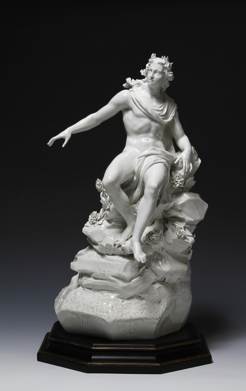A Figure of Apollo, modelled by Joachim Kaendler