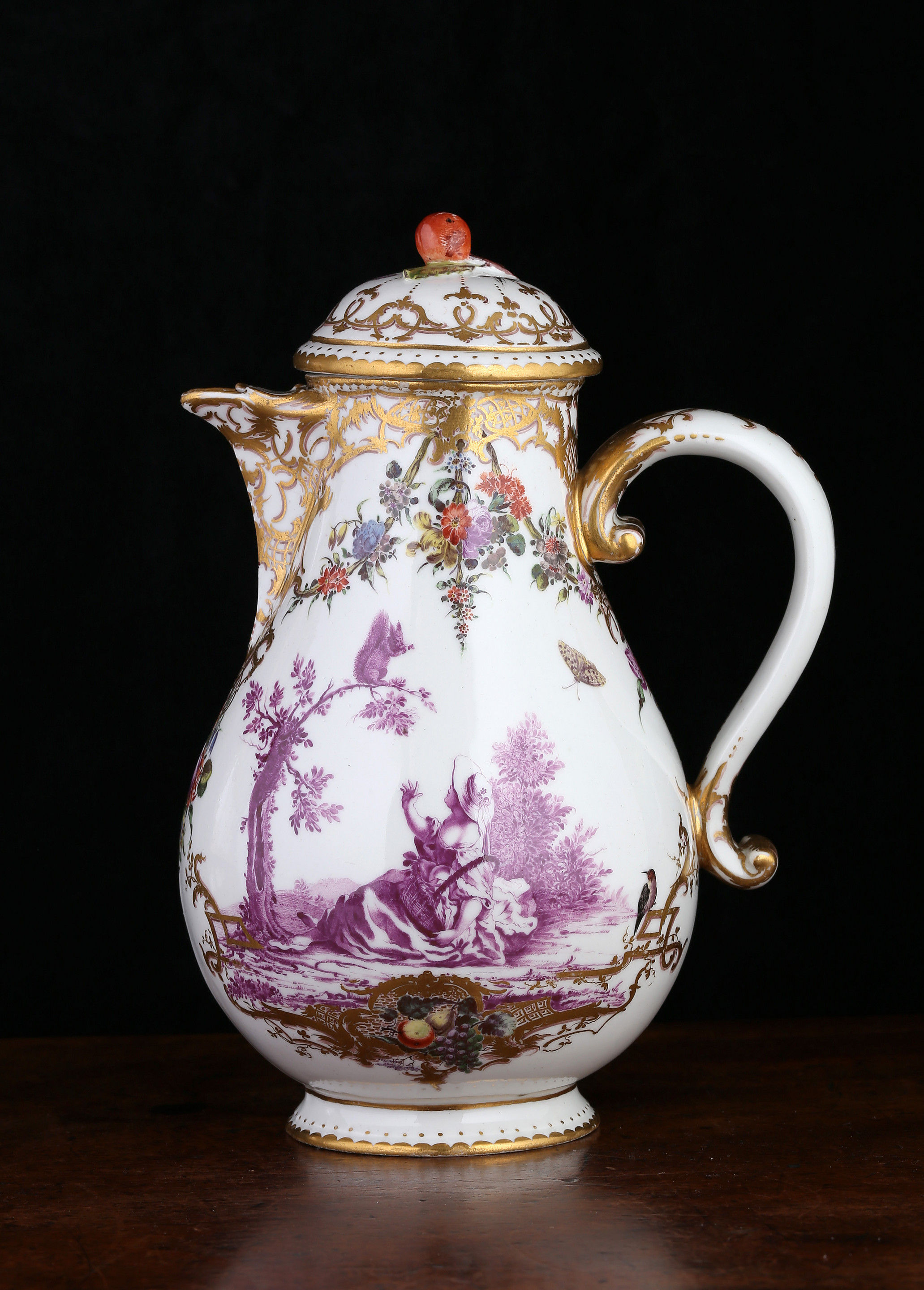 Nymphenburg Coffee Pot and Cover
